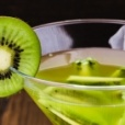 Cocktail con kiwi e spumante