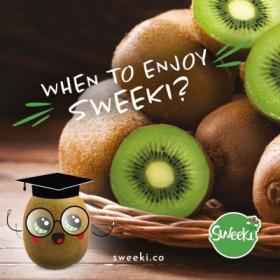 品尝 Sweeki® 最佳食用时间?