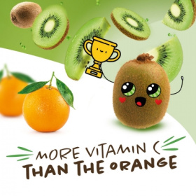 Sweeki® 奇异果:富含大量维生素 C!